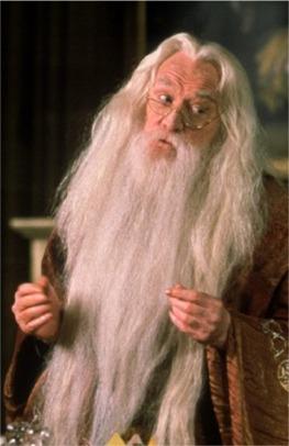 Richard Harris as Professor Dumbledore