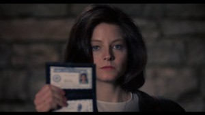 Jodie Foster as Clarice Starling