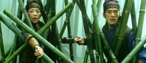 If I had to give characters in martial arts films one piece of advice it would be this: Stay out of the bamboo forest! Nothing good ever happens there.
